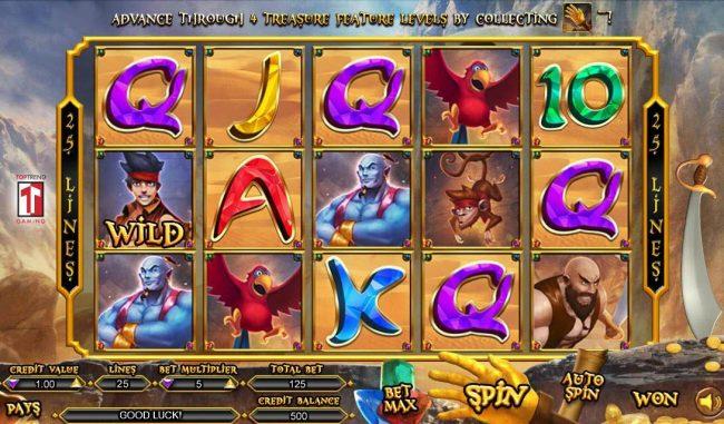 Aladdin Hand Of Midas Slot Machine