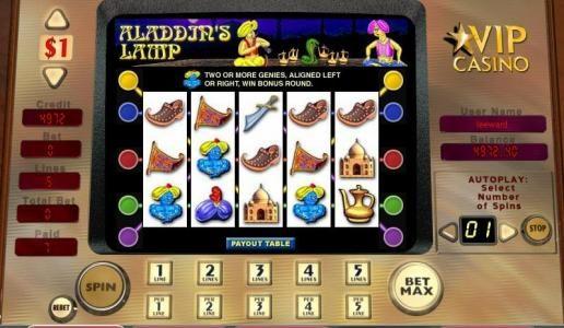 Aladdin's Lamp ::