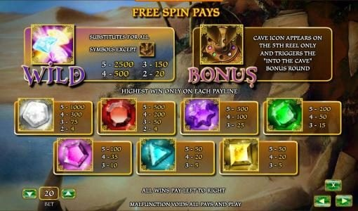 Play slots at Slots Cafe: Slots Cafe featuring the Video Slots Aladdin's Legacy with a maximum payout of 2500