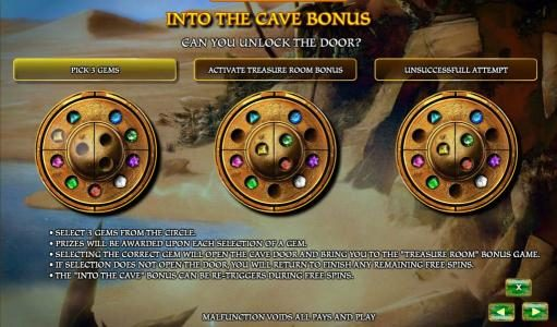 Aladdin's Legacy :: into the cave bonus rules
