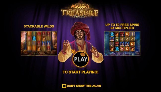 Play slots at Crystal Casino Club: Crystal Casino Club featuring the Video Slots Aladdin's Treasure with a maximum payout of $52,500