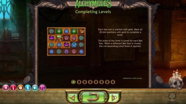 Play slots at Yoyo: Yoyo featuring the Video Slots Alchymedes with a maximum payout of $600,000