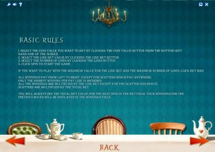 Alice Adventure :: basic game rules