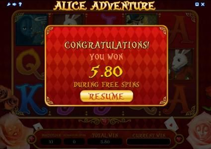 Betchan featuring the Video Slots Alice Adventure with a maximum payout of $1,000