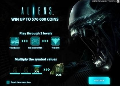 Play slots at Roy Richie: Roy Richie featuring the Video Slots Aliens with a maximum payout of $10,000