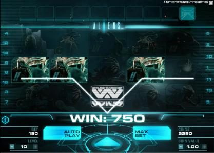 Play slots at Go Wild: Go Wild featuring the Video Slots Aliens with a maximum payout of $10,000