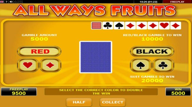 Svedala featuring the Video Slots All Ways Fruits with a maximum payout of $100,000