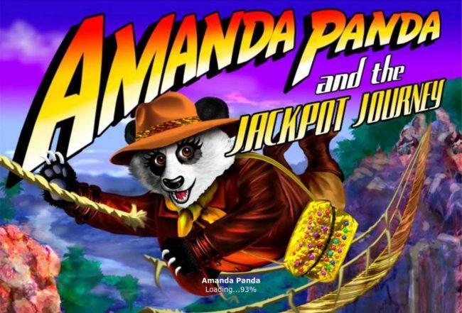 Splash screen - game loading - Panda Bear Adventure Theme