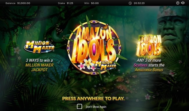 Play slots at Casino Superlines: Casino Superlines featuring the Video Slots Amazon Idols Million Maker with a maximum payout of $1,000,000