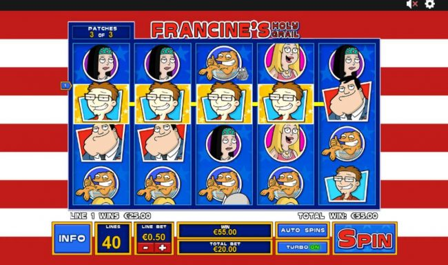 Carnival featuring the Video Slots American Dad with a maximum payout of $3,750