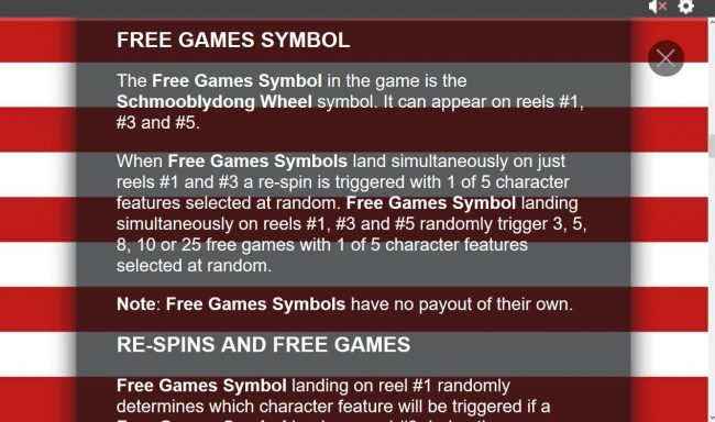 Free Games Symbol Rules