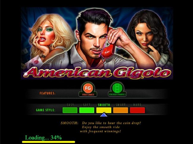 Play slots at Slottica: Slottica featuring the Video Slots American Gigolo with a maximum payout of $30,000