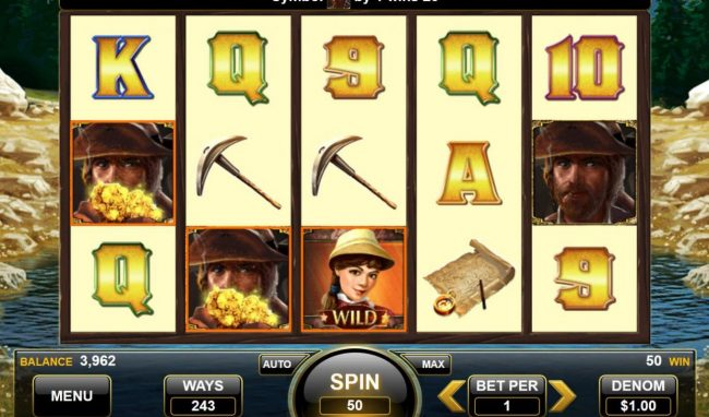 American Gold Rush :: A winning Three of a Kind.