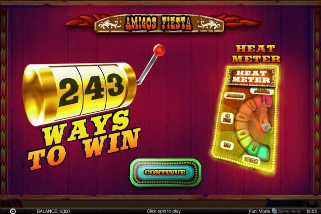 Play slots at iviCasino: iviCasino featuring the Video Slots Amigos Fiesta with a maximum payout of $200,000