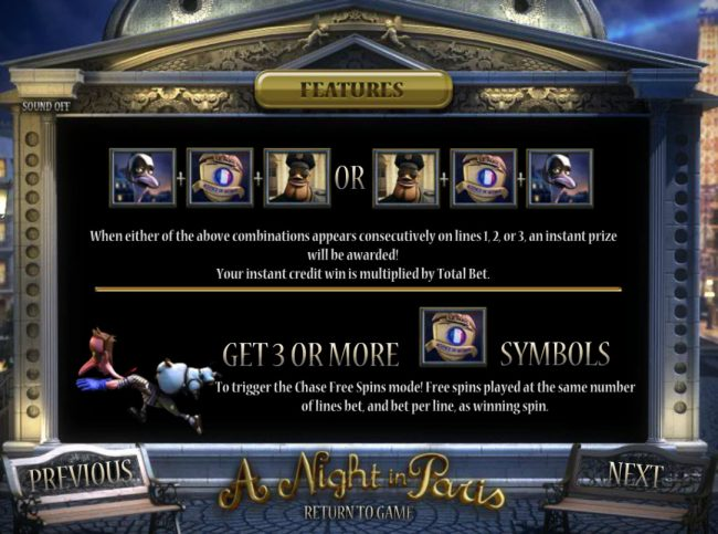 Superbet Palace featuring the Video Slots A Night in Paris Jackpot with a maximum payout of Jackpot