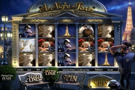 Play slots at Carbon Casino: Carbon Casino featuring the Video Slots A Night in Paris with a maximum payout of $7,500