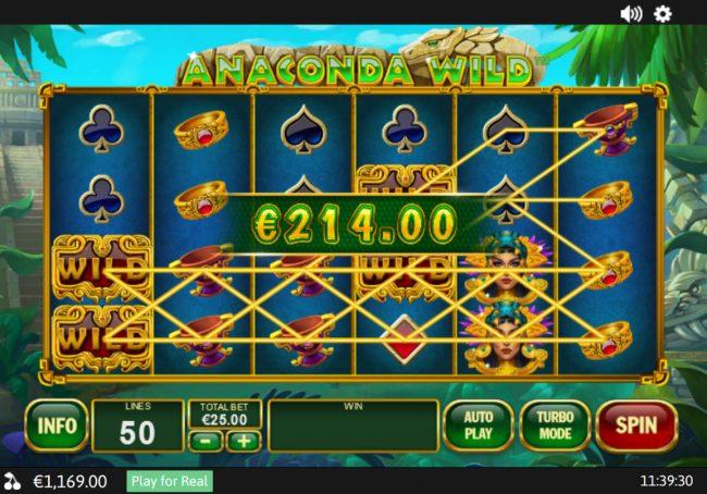 Anaconda Wild :: Multiple winning combinations
