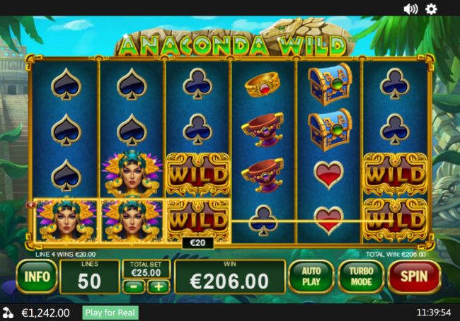 Anaconda Wild :: Three of a Kind