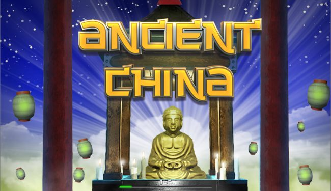 Mister Winner featuring the Video Slots Ancient China with a maximum payout of $25,000