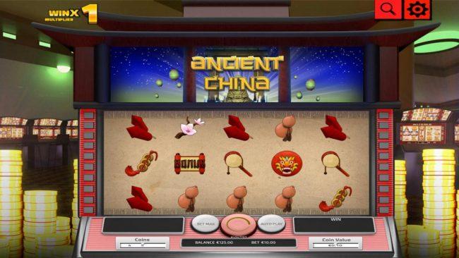Ancient China :: Main Game Board