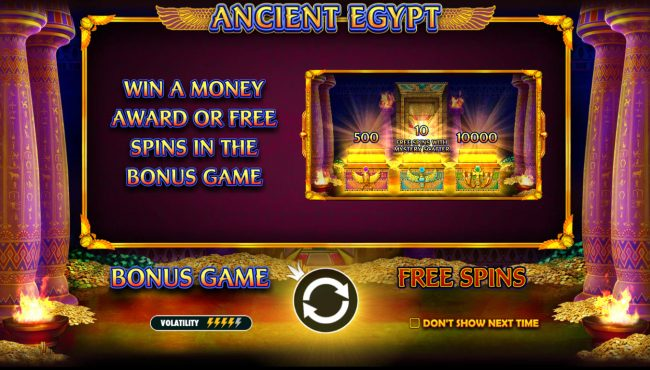 Play slots at Big5 Casino: Big5 Casino featuring the Video Slots Ancient Egypt with a maximum payout of $250,000