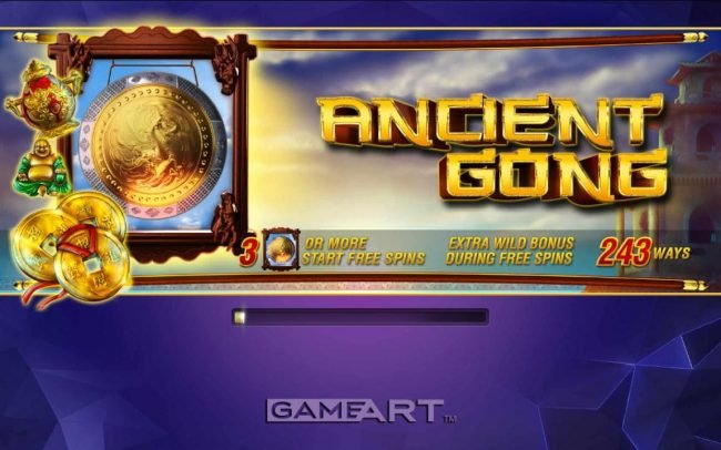NordiCasino featuring the Video Slots Ancient Gong with a maximum payout of $30,000
