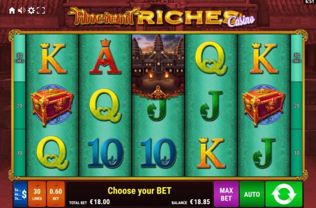 Ancient Riches Casino :: Main Game Board