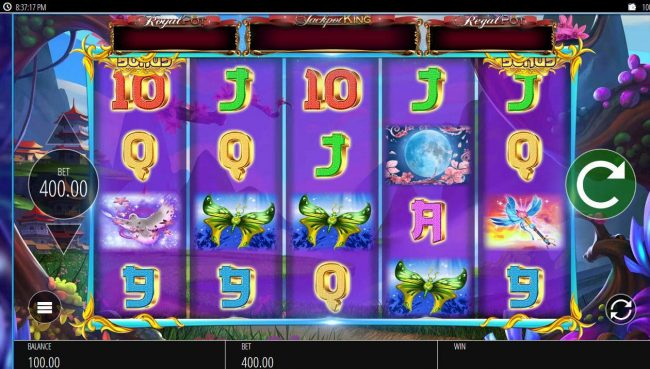 Cheeky Riches featuring the Video Slots Angel Princess with a maximum payout of $200,000