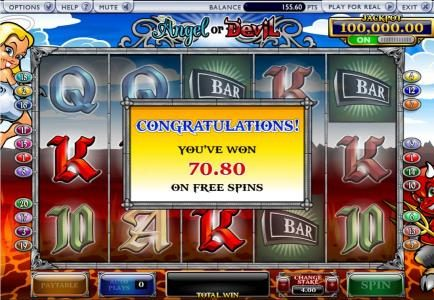 free games payout 70 credits