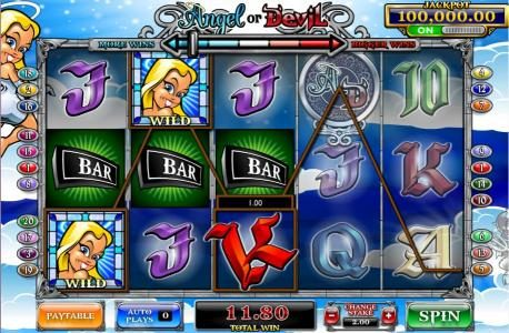 Play slots at Powerspins: Powerspins featuring the Video Slots Angel or Devil with a maximum payout of 4,000x