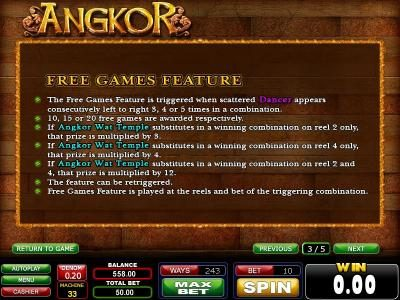 Play slots at Casinoval: Casinoval featuring the Video Slots Angkor with a maximum payout of $750