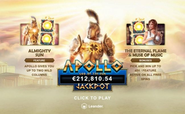 Play slots at 21 Prive Casino: 21 Prive Casino featuring the Video Slots Apollo God of the Sun with a maximum payout of Jackpot