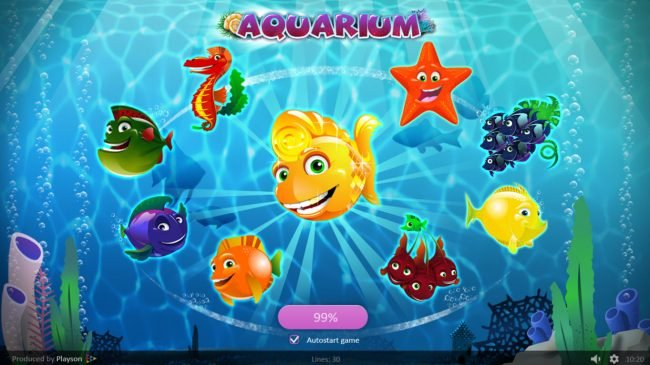 Play slots at VipSpel: VipSpel featuring the Video Slots Aquarium with a maximum payout of $45,000
