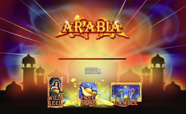 Arabia :: Game features include: Wild Reel, Free Spins and Gamble Feature