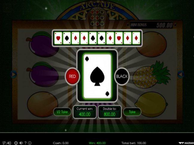 Arcade :: Gamble Feature Game Board