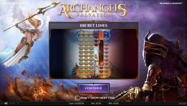 Play slots at Spintropolis: Spintropolis featuring the Video Slots Archangels Salvation with a maximum payout of $200,000