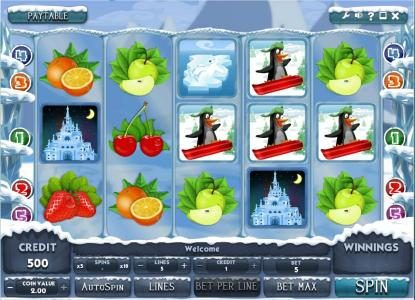 Llama Casino featuring the Video Slots Arctic Ace with a maximum payout of $10,000