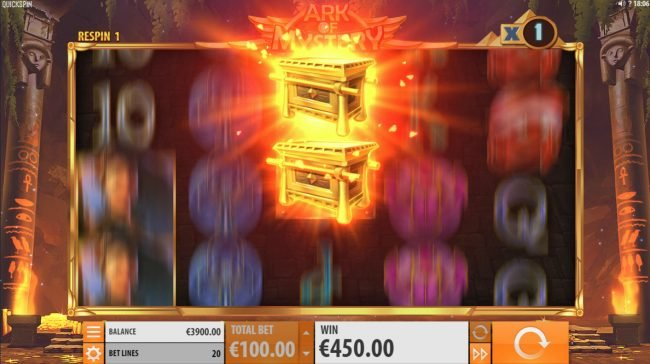 Wintingo featuring the Video Slots Ark of Mystery with a maximum payout of $100,000