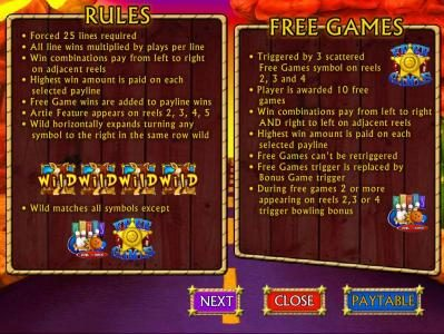 Casino Red Kings featuring the Video Slots Armadillo Artie with a maximum payout of $10,000