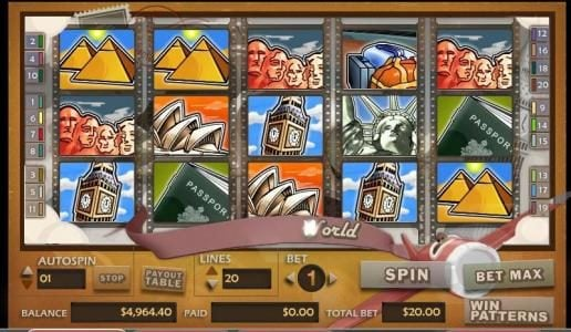 Play slots at Zet Casino: Zet Casino featuring the video-Slots Around the World with a maximum payout of 30,000x