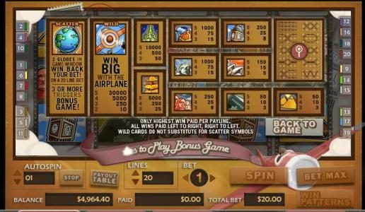 Omnia featuring the video-Slots Around the World with a maximum payout of 30,000x