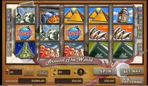 Hello featuring the video-Slots Around the World with a maximum payout of 30,000x