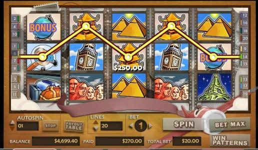Royal Panda featuring the video-Slots Around the World with a maximum payout of 30,000x