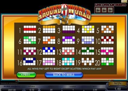 Zodiac featuring the Video Slots Around the World with a maximum payout of $100,000