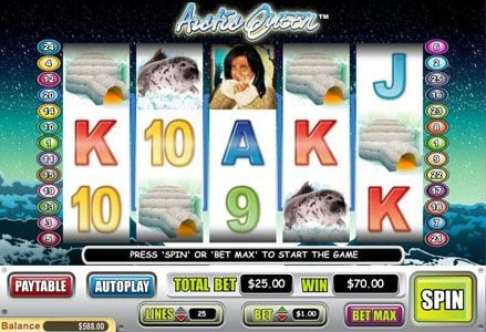 Lincoln featuring the Video Slots Arctic Queen with a maximum payout of $100.000