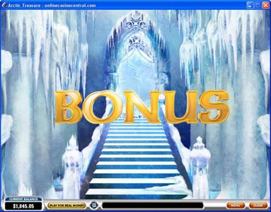 Europlay featuring the Video Slots Arctic Treasure with a maximum payout of $50,000