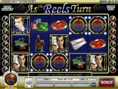 Simon Says featuring the Video Slots As the Reels Turn # 1: With Fiends like You with a maximum payout of $5,000