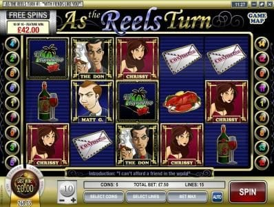 Vegas Fortune featuring the Video Slots As the Reels Turn # 1: With Fiends like You with a maximum payout of $5,000