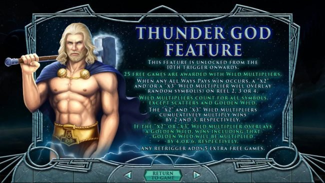 Thunder God Feature Rules