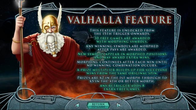 Valhalla Feature Rules